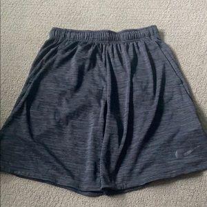 Nike Athletic Shorts - Heather Black